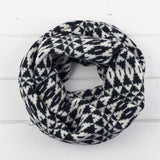 Miss Knit Nat - luxury knitted lambswool circle scarves