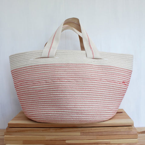 Ruby Cubes – Stylish Handmade Rope Tote Bags