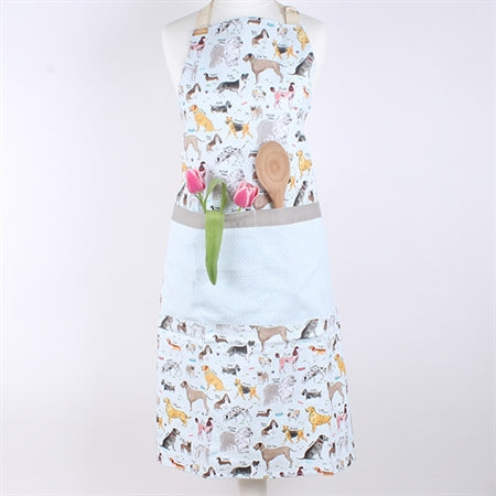 Debonair Dogs Apron - Milly Green