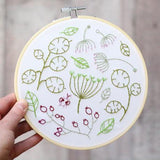 Hawthorn Handmade - Easy to follow, Hand Embroidery kits