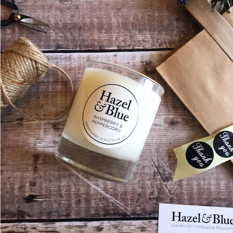 Hazel and Blue Candles - Natural, Eco-friendly scented candles and fragrances