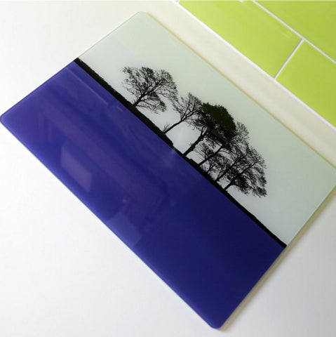 Landscape Glass Worktop Savers - The Art Rooms