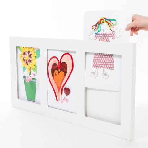 The Articulate Gallery - Frames for Children's 2D or 3D Art Works