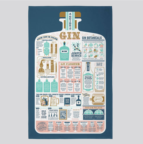 Stuart Gardiner Design - Culinary-Themed Infographic Tea Towels