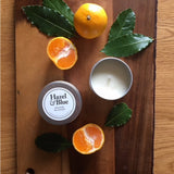 Hazel and Blue Candles - Eco-friendly scented Tinned Candles.