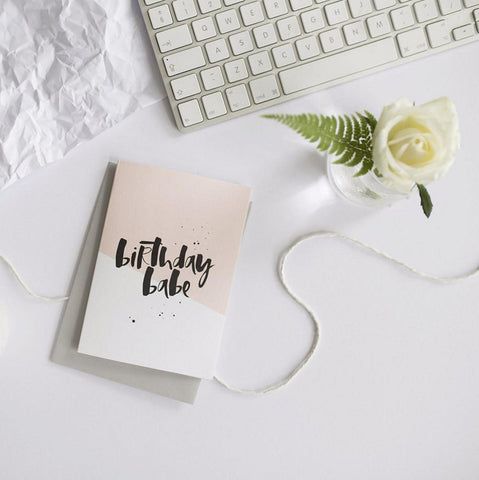 Too Wordy - Contemporary Hand Lettered Greeting Cards