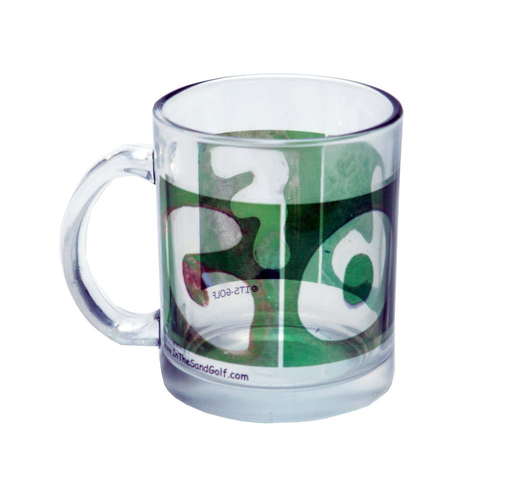 GOLF Clear Glass Coffee Mug