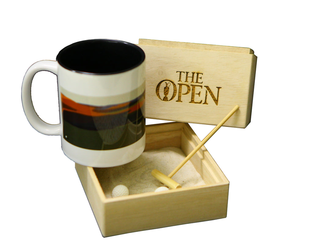 Elements Zen Garden with Sage Mug