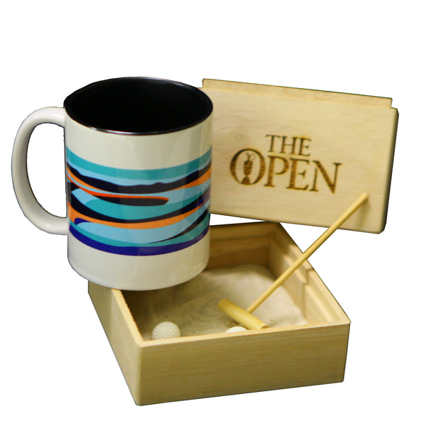 The Open Elements Zen Garden with Aqua Mug