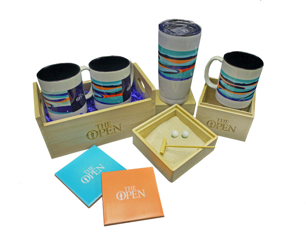 The Open Elements Gift Set Aqua