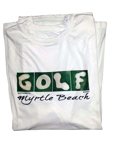 GOLF White T-Shirt Unisex