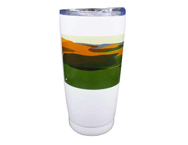 The Open Elements 20oz Sage/White Tumbler