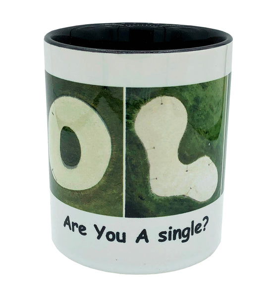 "GOLF ""Are You A Single?"" Mug"