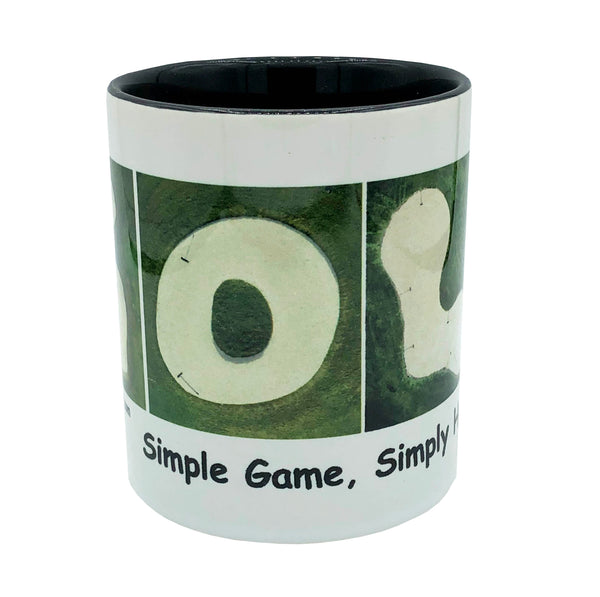 "GOLF ""Simple Game, Simply Hard"" Mug"