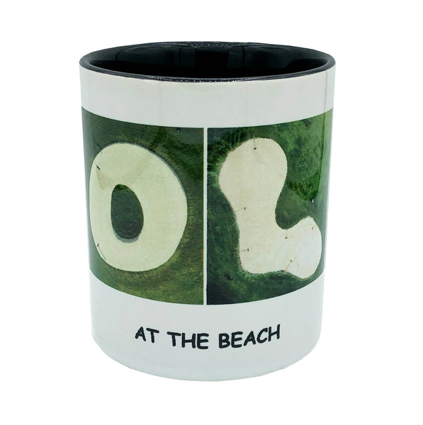 "GOLF ""At The Beach"" Mug"