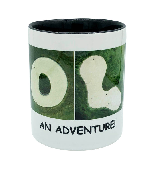 "GOLF ""An Adventure"" Mug"