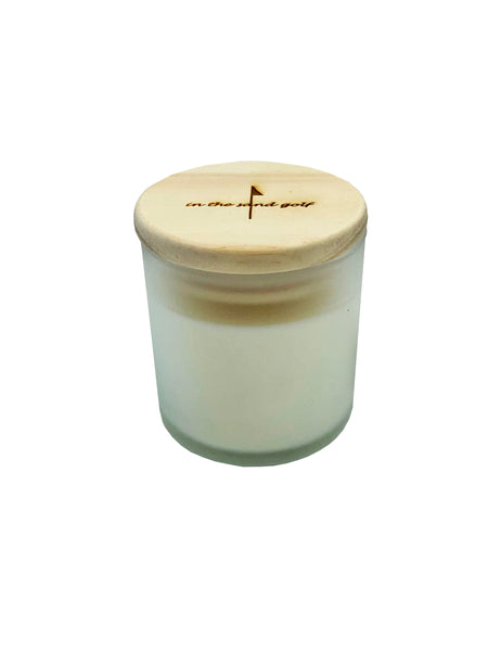 5oz Soy Candle With Wooden Lid