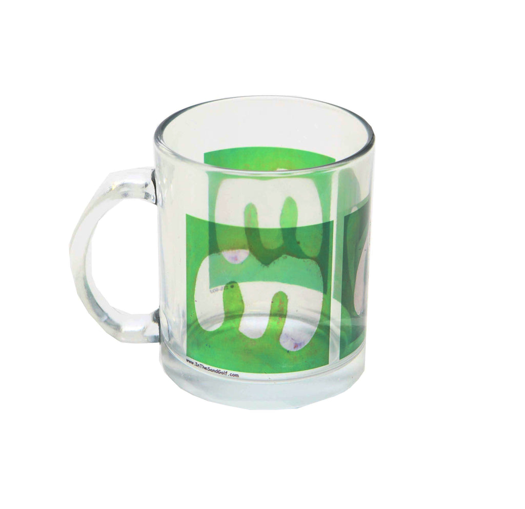 MOM Clear Golf Mug