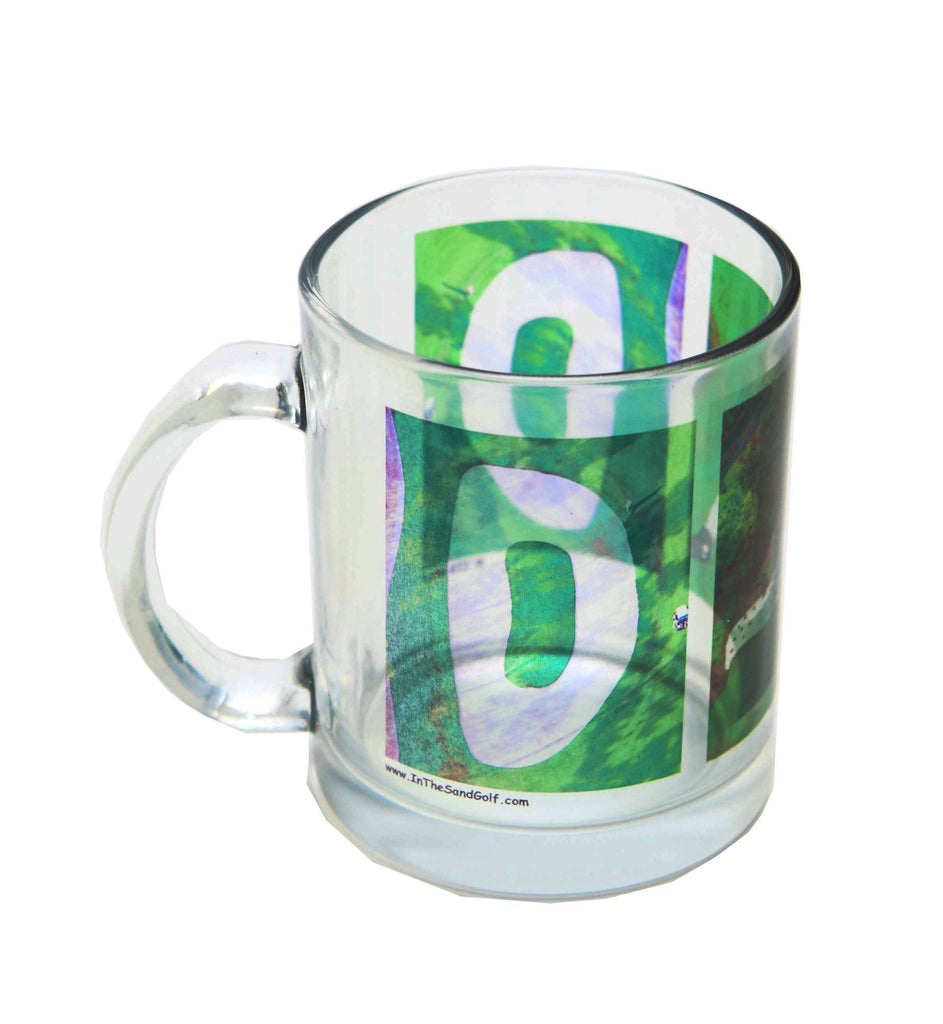 DAD Clear Golf Coffee Mug