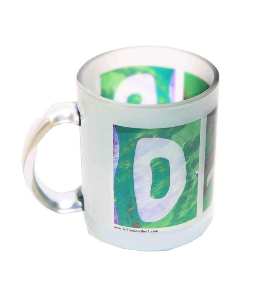 DAD Golf Frosted Coffee Mug