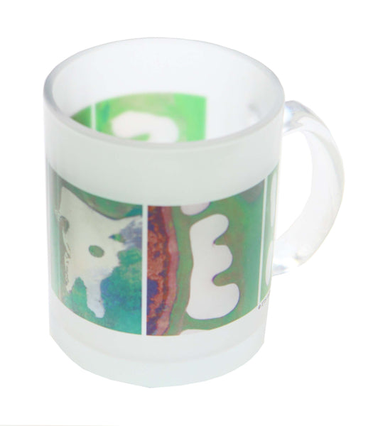 FORE Frosted Glass Golf Coffee Mug