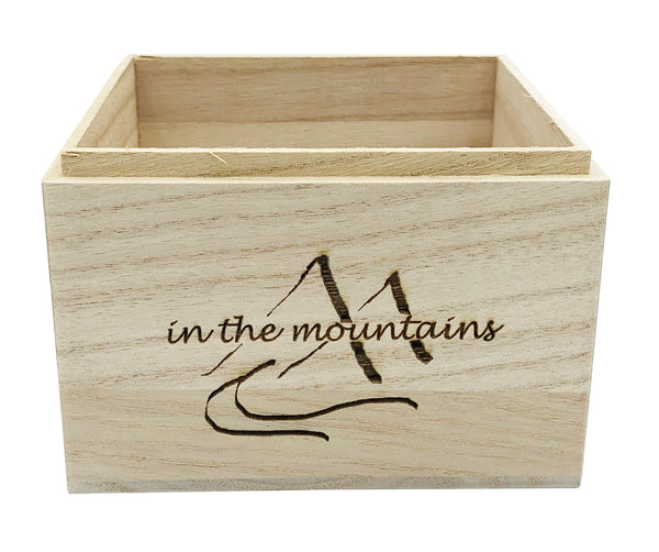 In The Mountains Zen Garden with Carabiner Mug