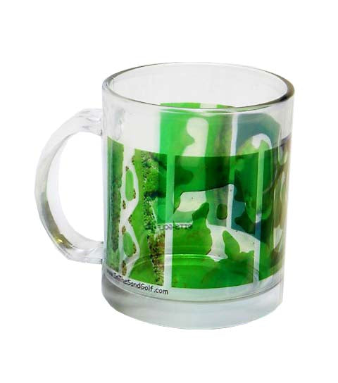 Personalized Golf Clear Mug