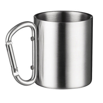 Carabiner stainless Steel Cup