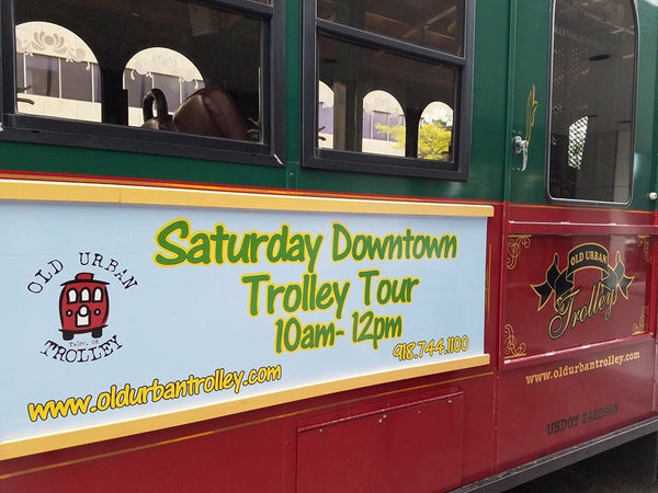 Saturday Downtown Trolley Tour