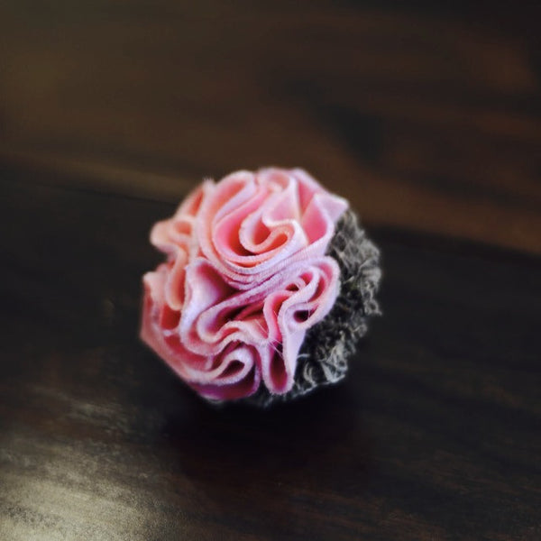 Ruffled Candy Flower