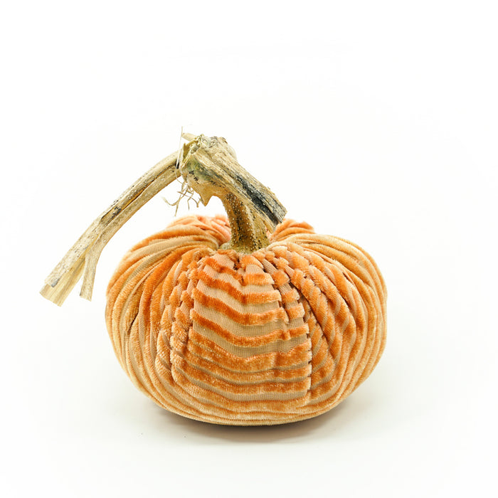 Pink Gold Woodgrain Pumpkins