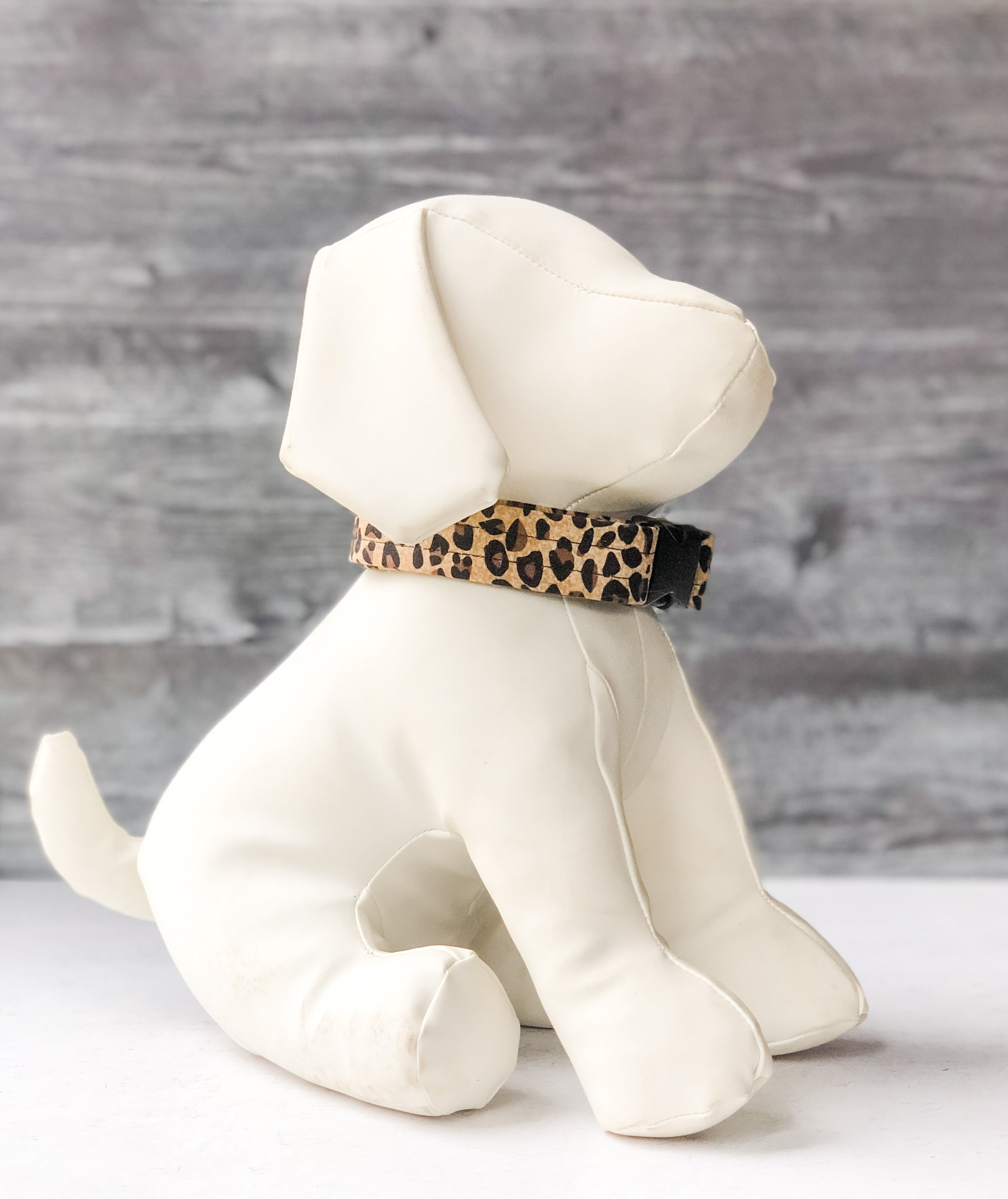 Cheetah Print Collar