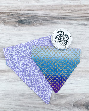 Double-Sided Mermaid Bandana