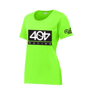 404 Green Womens Team Race Jersey