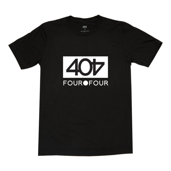 404 Orignial Men's Black T-Shirt RPET (made from plastic bottles)