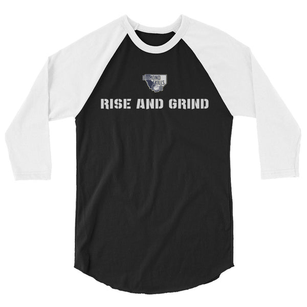 Unisex 3/4 sleeve Rise and Grind