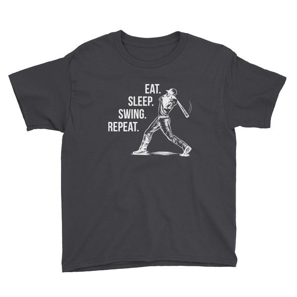 Youth Short Sleeve- Eat. Sleep.Swing.Repeat
