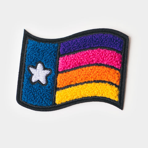 Chenille Patch - Texas PRIDE