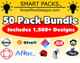 50 Smart Packs Wilcom EMB Format