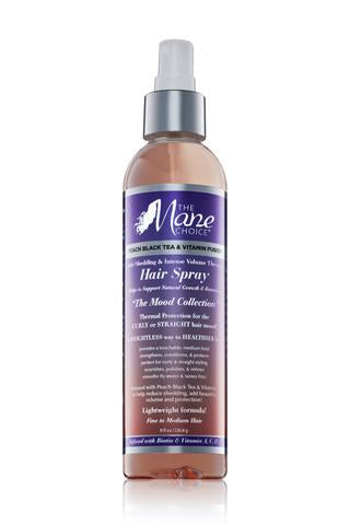 Peach Black Tea & Vitamin Fusion Anti- Shedding & Intense Volume Therapy Hair Spray