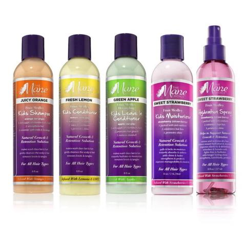 1 2 3 4 Fruit Medley Kids Collection (Shampoo, Conditioner, Leave-In/Detangler, Moisturizer)