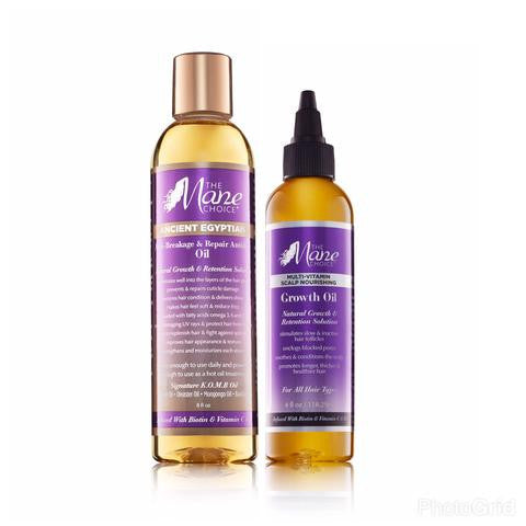 Double up! Hair Growth & Hair Retention Oil Combo
