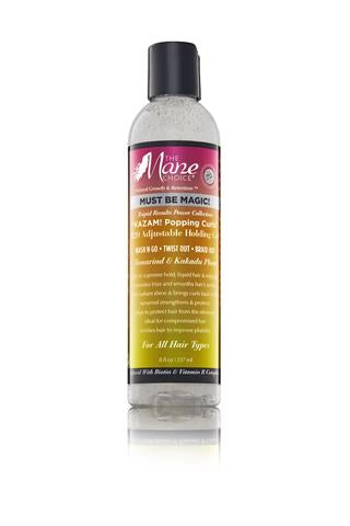 "MUST BE MAGIC ""KAZAM! Popping Curls"" H2O Adjustable Holding Gel"
