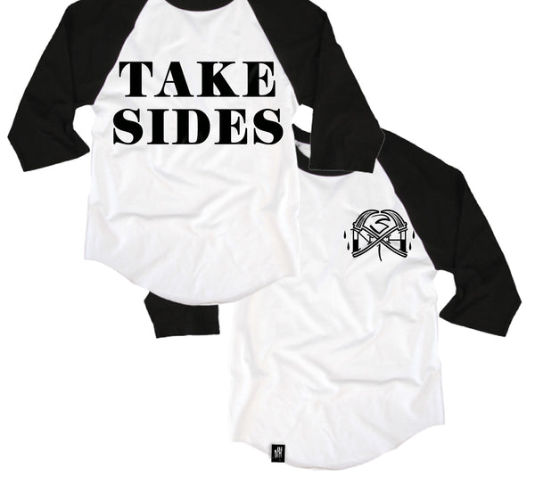 TAKE SIDES - Raglan