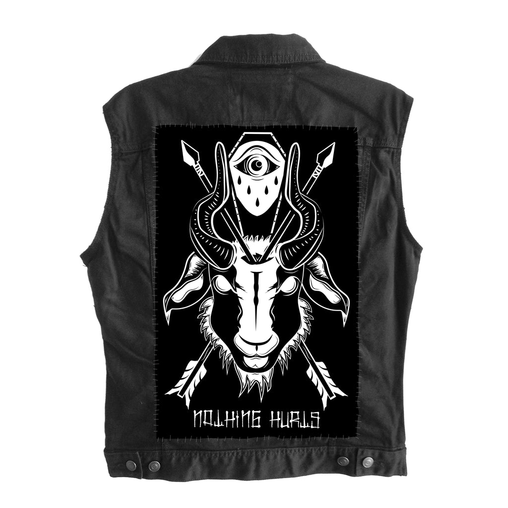 EVIL GOAT HEAD - Backpatch