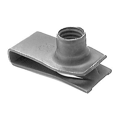 GM & Ford Extruded U Nut M8-1.25 Screw Size - Package Quantity 25 - Troyer Products