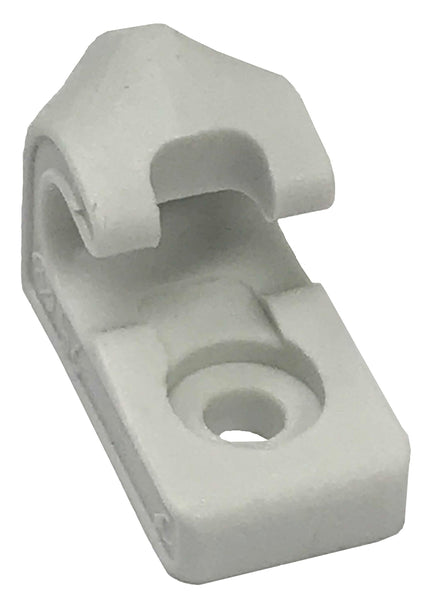 "1"" White Acetal Lash Hook - Troyer Products"