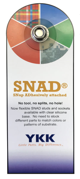 YKK® SNap ADhesively attached Fastener - SNAD®