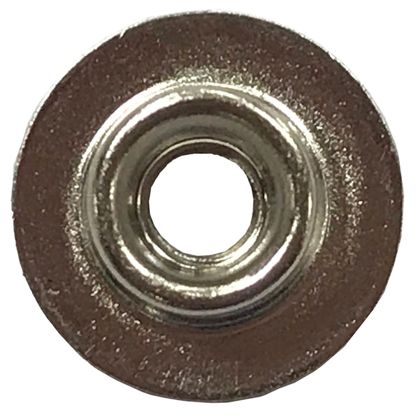 Low Base Stud - Nickel Brass - 1000 per Bag - Troyer Products