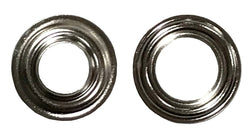 Grommets and Washers Nickel Self Piercing #0 - 1000 Per Bag - Package Quantity 1000 per Bag - Troyer Products